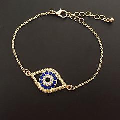 Dames Armbanden met ketting en sluiting Natuur Europees Legering Boze oog Sieraden Voor