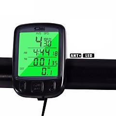 Kerékpár Mountain bike Kerékpár computerUtazáshossz mérő háttérvilágítás TME - Eltelt idő Av - átlagsebesség Odo – Utazáshossz mérő SPD -