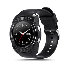 kimlink® v8 smartwatch kamera érintőképernyő kihangosított hívások pedométer távvezérlő fitness tracker