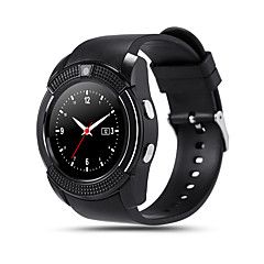 kimlink® v8 smartwatch κάμερα οθόνη αφής hands-free κλήσεις βηματόμετρο απομακρυσμένου ελέγχου tracker γυμναστικής
