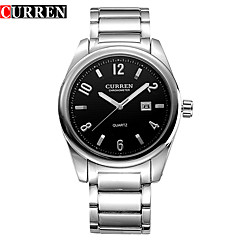 CURREN Simple Luxury Leisure Fashion Calendar Waterproof Quartz Watch