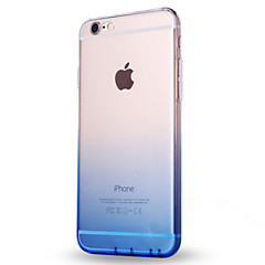 Per Ultra sottile Traslucido Custodia Custodia posteriore Custodia Colore graduale e sfumato Morbido TPU per AppleiPhone 7 Plus iPhone 7