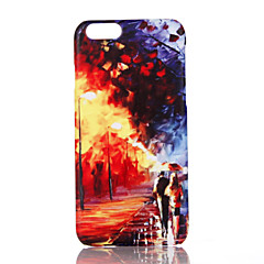Mert Ultra-vékeny Minta Case Hátlap Case Kilátás Kemény PC mert Apple iPhone 7 Plus iPhone 7 iPhone 6s Plus/6 Plus iPhone 6s/6