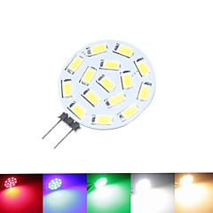 G4 GU4 GZ4 7.5W 15x5630SMD Warm White Cool White  Natural White  Green Red  Blue 900LM Led Light Bulbs (9-36V AC/DC)