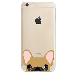 For Apple iPhone7 7 Plus 6S 6 Plus SE 5S Case Cover Dog Pattern High Penetration Painted TPU Material Phone Case