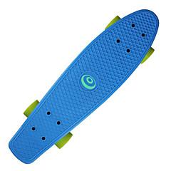 PP (Polypropylène) Enfant Unisexe Adulte Cruisers Skateboard 22,5 pouces Professionnel ABEC-7-Jaune Rouge Vert Bleu Rose