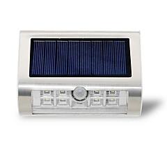 détecteur de mouvement pir énergie solaire 9 leds mur lumière lumières de sécurité en plein air lumières de la nuit