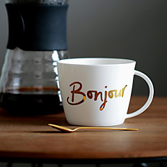 Minimalism Dryckesaccessoarer, 450 ml Enkla geometriska mönster Dekorativ Keramik Juice Vatten Kaffemuggar