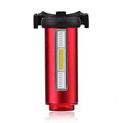 luzes do fulgor da bicicleta Luz Traseira Para Bicicleta Ciclismo Recarregável Impermeável Tamanho Compacto Cores VariáveisUSB Bateria de