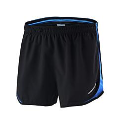 Arsuxeo Homens Shorts de Corrida Secagem Rápida Respirável Macio Materiais Leves Tiras Refletoras Reduz a Irritação Detalhes Refletores