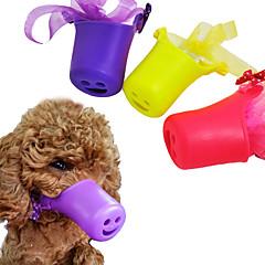 Gato Perro Entrenamiento Formación de Comportamiento Antiladrido Poco ruido Lazo Adorable Morado Amarillo Rosa