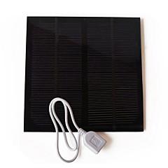 Açık 3w usb için liangguang güneş paneli pil şarj cihazı