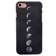 Για iPhone 8 iPhone 8 Plus Θήκες Καλύμματα Λάμπει στο σκοτάδι Με σχέδια Πίσω Κάλυμμα tok Πλακάκι Σκληρή PC για Apple iPhone 8 Plus iPhone