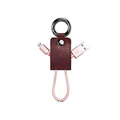 USB 2.0 Micro USB 2.0 Intrekbaar Gevlochten Kabel Voor Samsung Huawei Sony Nokia HTC Motorola LG Lenovo Xiaomi 18 cm Nylon Aluminium