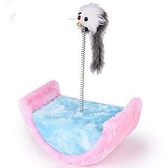 고양이 장난감 반려동물 장난감 인터렉티브 스크래치 패드 나무 사이잘 플러쉬