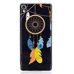 For Lyser i mørket IMD Mønster Etui Bagcover Etui Drømmefanger Blødt TPU for Sony Sony Xperia XA