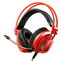 XIBERIA V10 Vibration Gaming Headphones Over Ear LED Light Stereo Headset Pc Gamer Computer Super Bass Glow Earphones With Mic