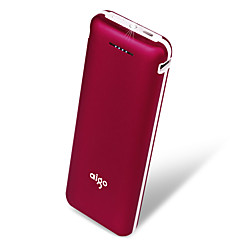 aigo® 20000mAh power bank 2.1A 1A external battery Multi-Output with Cable Flashlight