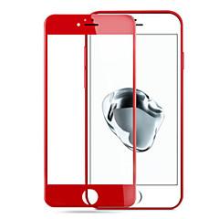 til æble iphone7 3d rød glasskærm hærdet stål eksplosion-bevis membran mod fingeraftryk