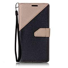 Mert Pénztárca Kártyatartó Állvánnyal Flip Mágneses Case Teljes védelem Case Egyszínű Kemény Műbőr mert LG LG K10 LG K7 LG G6 LG V20