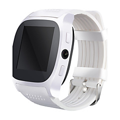 Smart ur t8 ur med sim-kort slot 2.0 MP kamera push-meddelelse Bluetooth Android-telefon SmartWatch t8