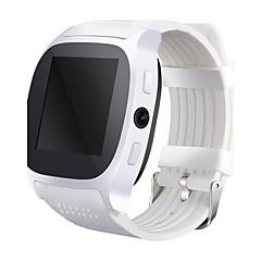 έξυπνο ρολόι ρολόι Τ8 με υποδοχή κάρτας sim 2.0 MP συνδεσιμότητα ώθηση κάμερα μήνυμα bluetooth τηλέφωνο Android SmartWatch t8
