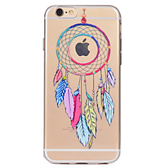 Mert Átlátszó Minta Case Hátlap Case Álomvadász Puha TPU mert AppleiPhone 7 Plus iPhone 7 iPhone 6s Plus iPhone 6 Plus iPhone 6s iPhone 6