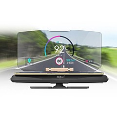 ziqiao universal mobile gps navigation beslag hud head up display for smart telefon bil mount stå telefonholder