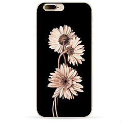 For IPhone 7 Case Back Cover Case TPU Sunflower Pattern for iPhone 7/ 7 Plus 6s/ 6 /6s Plus / 6 Plus/ SE / 5s / 5 /5C/ 4/4s