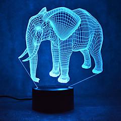Christmas fil dokunmatik karanlık 3d gece ışık 7colorful dekorasyon atmosfer lamba yenilik aydınlatma yılbaşı ışık