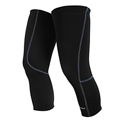 NUCKILY Kerékpár/Kerékpározás Leg Warmers Férfi / Gyermek / Uniszex Melegen tartani / Csökkenti a kopást / Gyapjú bélés Egyszínű