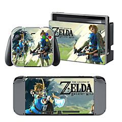 B-Δέρμα Αυτοκόλλητο Για Nintendo Switch Νεωτερισμός Φορητό