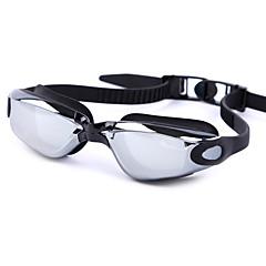 Úszás GogglesPáramentesítő Kopásgátló Vízálló Állítható méret UV-védő Karcolásálló Törhetetlen Állítható oldalpárnák Csúszásgátló pánt