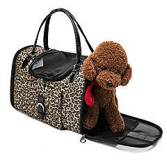 Leopard Pack Backpack Dog Supplies Portable Cat And Dog Pack Bag From The Backpack