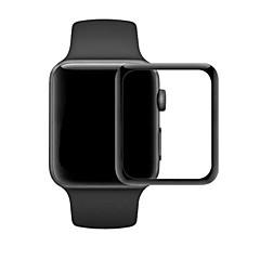 42 / 38mm 3d gehard glas scherm beschermer gebogen gehard membraan voor appelwatch serie 1/2