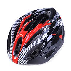 Unisex bisiklet kaskı yok havalandırmalar bisiklet sürüşü / dağ bisikleti / yol bisikleti / eğlence bisikleti bir ebat eps + epu pembe