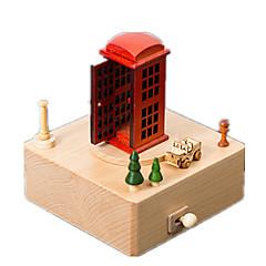 Müzik Kutusu Küre Model ve İnşaa Oyuncakları Plastik Unisex