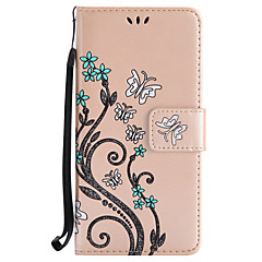 For Sony Xperia X XA Card Holder Wallet Case Full Body Case Flower Hard PU Leather For Sony Xperia XP XZ M4