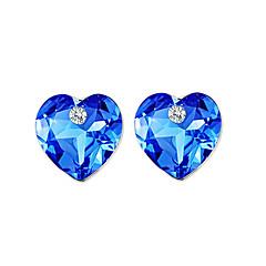 Kolczyki na sztyft Kryształ Unikalny Logo Cyrkonie Natura Bokiem Słodkie Style Gotyckie luksusowa biżuteria Kryształ Stop Bicone Shape