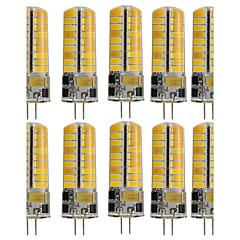 3W G4 Luci LED Bi-pin T 72 SMD 5730 350 lm Bianco caldo Luce fredda Decorativo V 10 pezzi