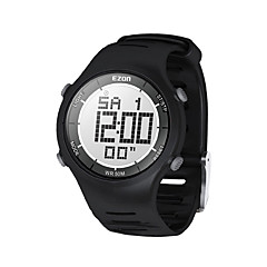 heren mode toevallige digitale horloges 30m waterdichte digitale dual time stopwatch outdoor sport polshorloge Ezon L008