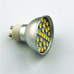 3W GU10 LED-spotlys 29 SMD 5050 350 lm Varm hvid Kold hvid Dekorativ Vekselstrøm220 V 1 stk.
