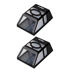 Youoklight 2pcs 0.5w 1.2v 0.12a haute puissance 2 * leds chaud blanc / froid blanc lumière lampe solaire lampe lampe lampe murale murale