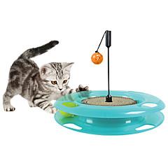 고양이 장난감 반려동물 장난감 인터렉티브 견고함 스크래치 패드 종이 플라스틱