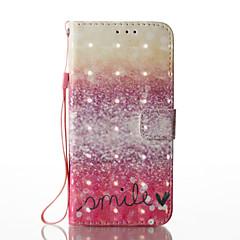 Samsung galaxy s8 plus s8 3d efekt czerwona pustynia wzór pu materiał portfel sekcji telefon przypadku na s7 krawędzi s7 s6 krawędzi s6 s5