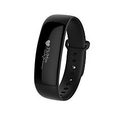 Yym88 mannenvrouw slimme armband / smarwatch / hartslagmonitor sm wristband slaapmonitor kleurenscherm voor iOS Android-telefoon