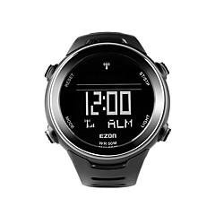 ezon l002a01 zewnątrz zegarek sportowy do biegania czas światowy wielofunkcyjne wodoodporne