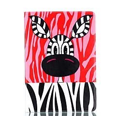 apple ipad 4 3 2 case cover漫画動物パターンカードステントpu素材平らな保護シェル