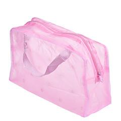 1pcs przenośny wodoodporny makeup organizer kosmetyczny torba kolor losowo