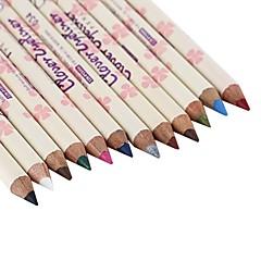 아이라이너 연필 건조 색깔있는 글로스 천연 눈